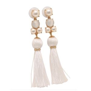 Kate Spade Swing Of Things Tassel Earrings